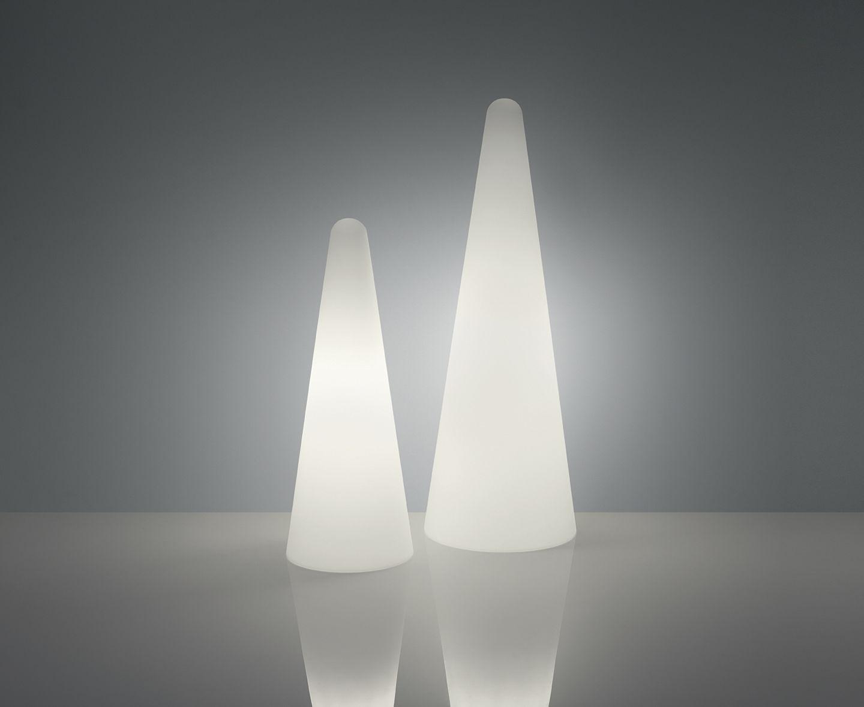 Lampada a stelo cono outdoor slide h 113 cm esterno h 113 x Ø