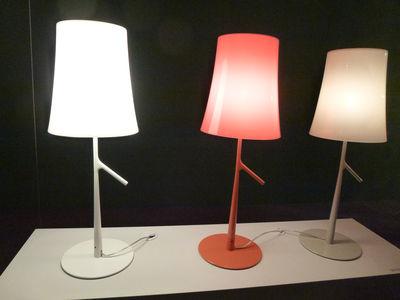 Lampada Birdie Foscarini.Lampada Da Tavolo Birdie Grande A 70 Cm Di Foscarini