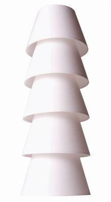 Lampadaire Set Up Shade - Moooi blanc en tissu