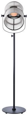 Lampadaire solaire La Lampe Paris LED / Sans fil - Maiori blanc,noir en métal