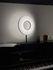 Lampe de table Iris LED / H 61 cm - Tissu & éclairage recto-verso - Dix Heures Dix