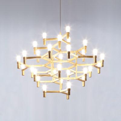 Leuchten   Pendelleuchten   Crown Major Pendelleuchte / Ø 115 Cm    Vergoldet   Nemo