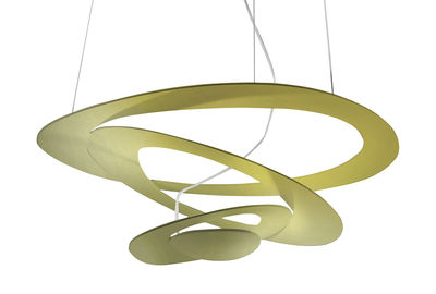 Pirce Mini Pendelleuchte LED / Ø 69 cm - Artemide - Gold