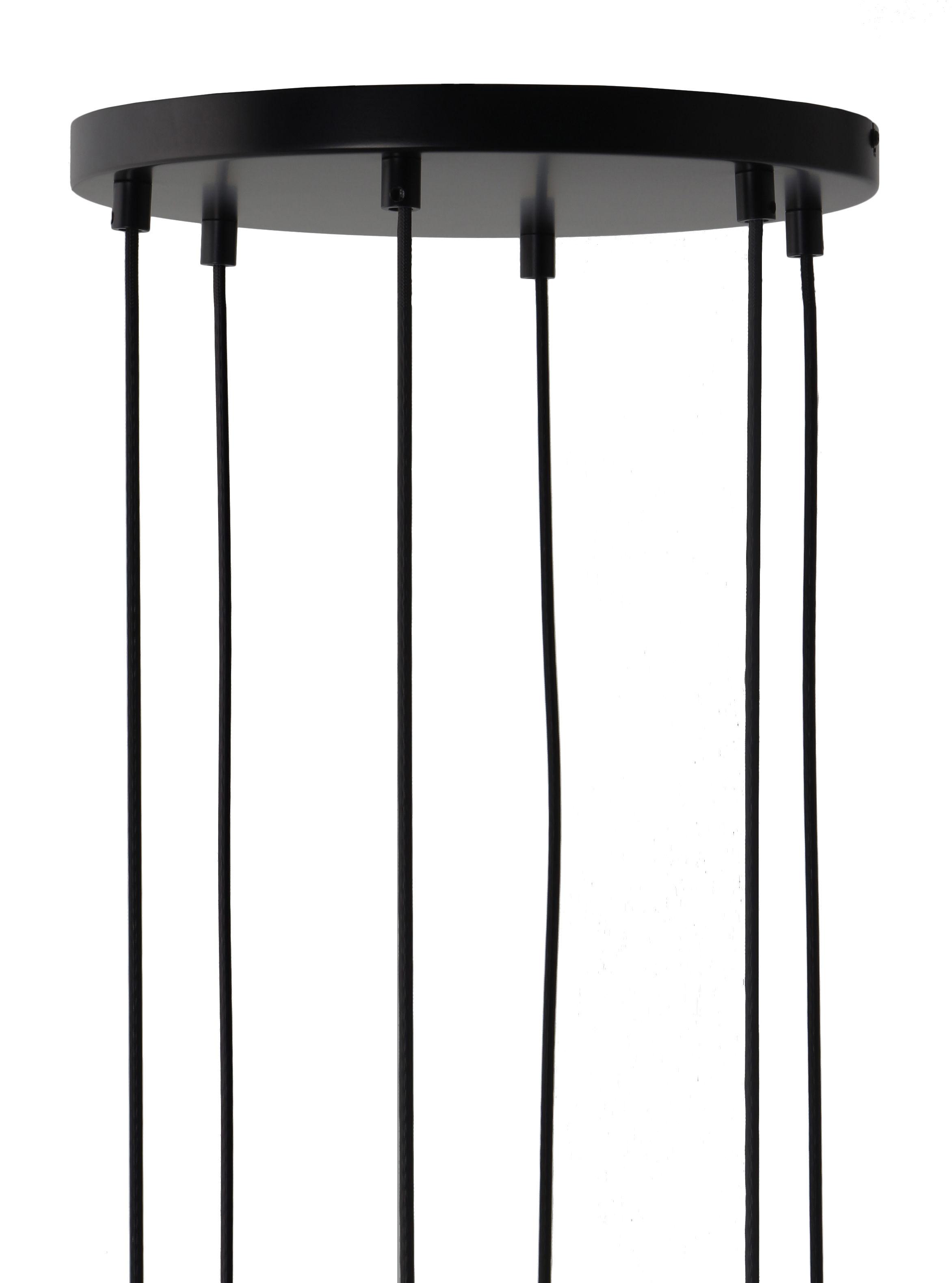 Luminaire - Ampoules et accessoires - Rosace multiple 6 trous / Pour 6 suspensions - Frandsen - 6 suspensions - Métal peint