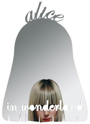 Arredamento - Specchi - Specchio autocollante Alice in wonderland - Autoadesivo di Domestic -  - Materiale plastico