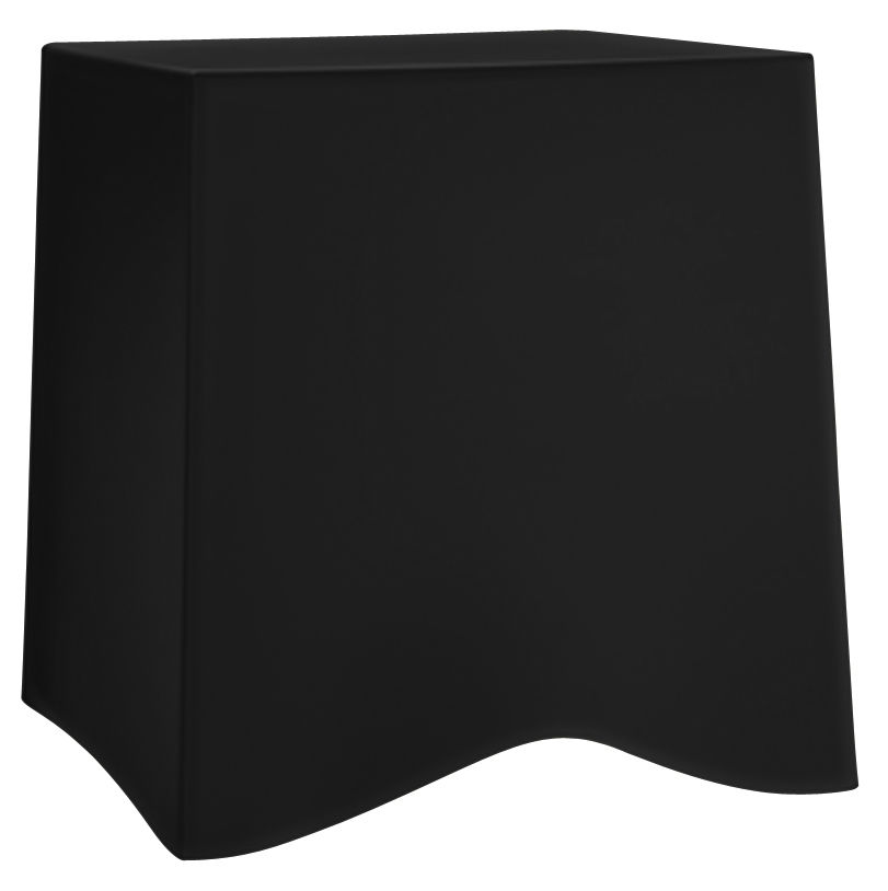 Furniture - Teen furniture - Briq Stackable stool by Koziol - Black - Polypropylene