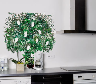 Decoration - Wallpaper & Wall Stickers - Chlorophyl Sticker by Domestic - Green - Vinal
