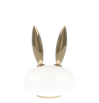 Purr Lapin Table Lamp Gold Plated Ceramic Gl By Moooi