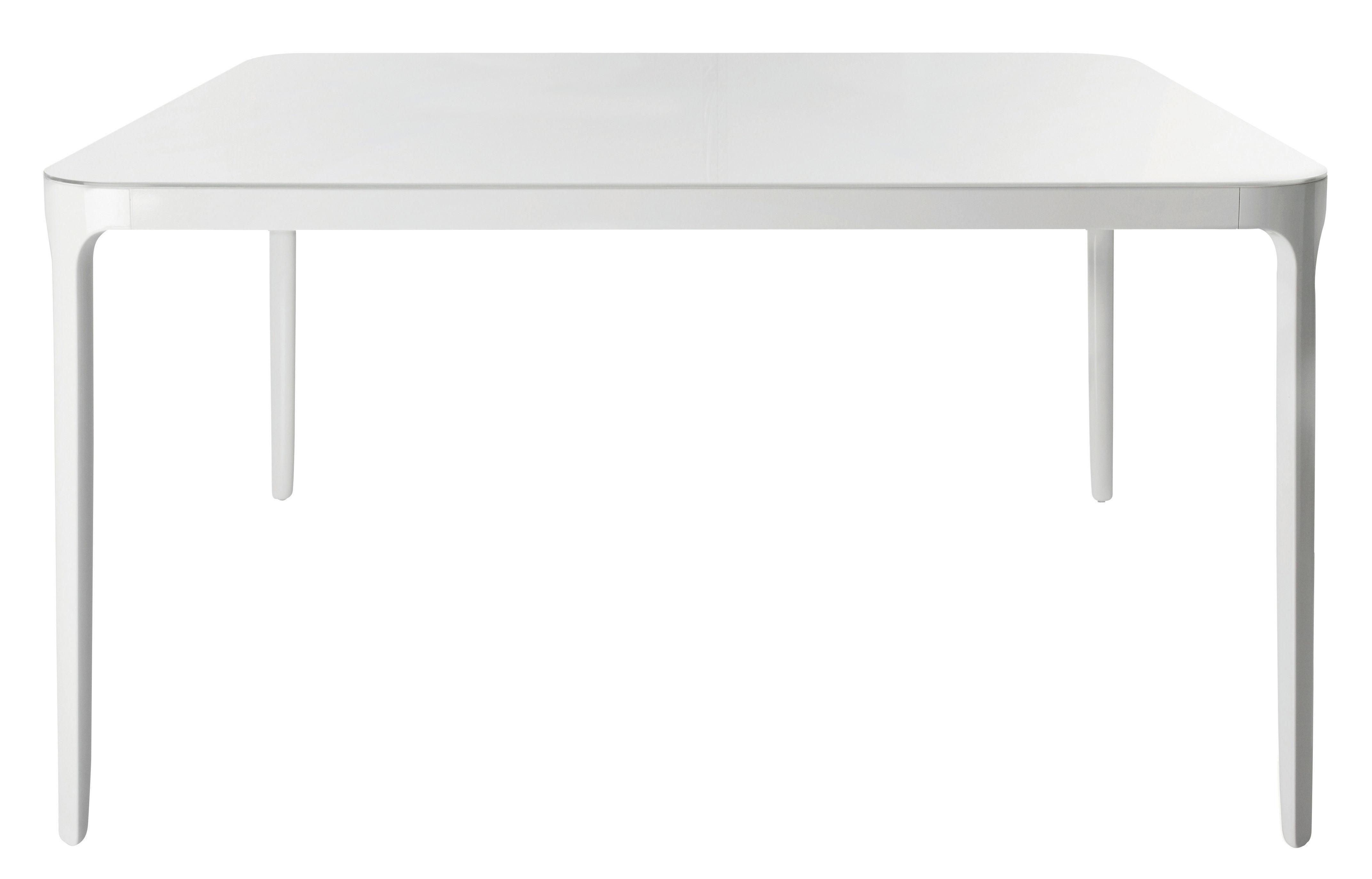 Tavolo quadrato Vanity Magis - Bianco - 140 x 140 cm - h 74 | Made ...