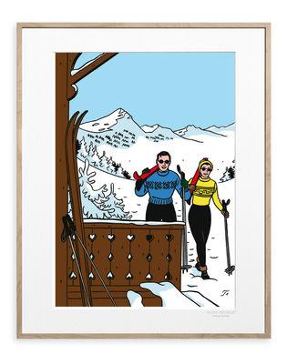 Déco - Stickers, papiers peints & posters - Affiche Floc'h - Winter Ski / 40 x 50 cm - Image Republic - Winter Ski - Papier