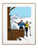 Affiche Floc'h - Winter Ski / 40 x 50 cm - Image Republic