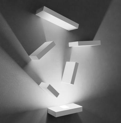 Luminaire - Appliques - Applique Set LED / Set 6 modules - Vibia - Blanc - Métal laqué, Polycarbonate