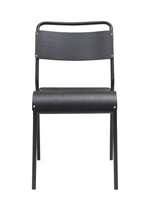 Chaise Original - House Doctor noir en métal/bois