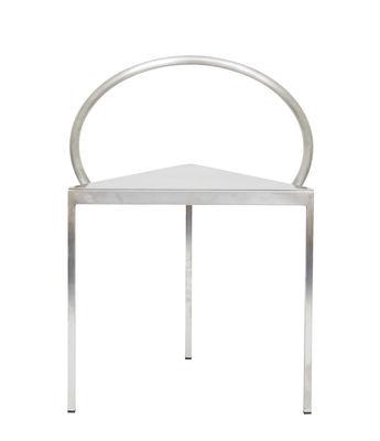Mobilier - Chaises, fauteuils de salle à manger - Chaise Triangolo / (1989) - Acier - Frama  - Acier - Acier inoxydable