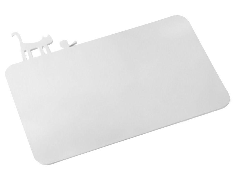 Kitchenware - Kitchen Equipment - PI:P Chopping board by Koziol - White - Plastic material
