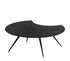 Dara Coffee table - / Trimmed - Epoxy painted steel - Ø 100 cm by Zeus