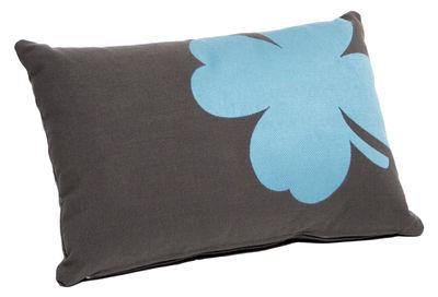 Coussin d´extérieur Trèfle / 44x30 cm - Pour l´extérieur - Fermob carbone en tissu