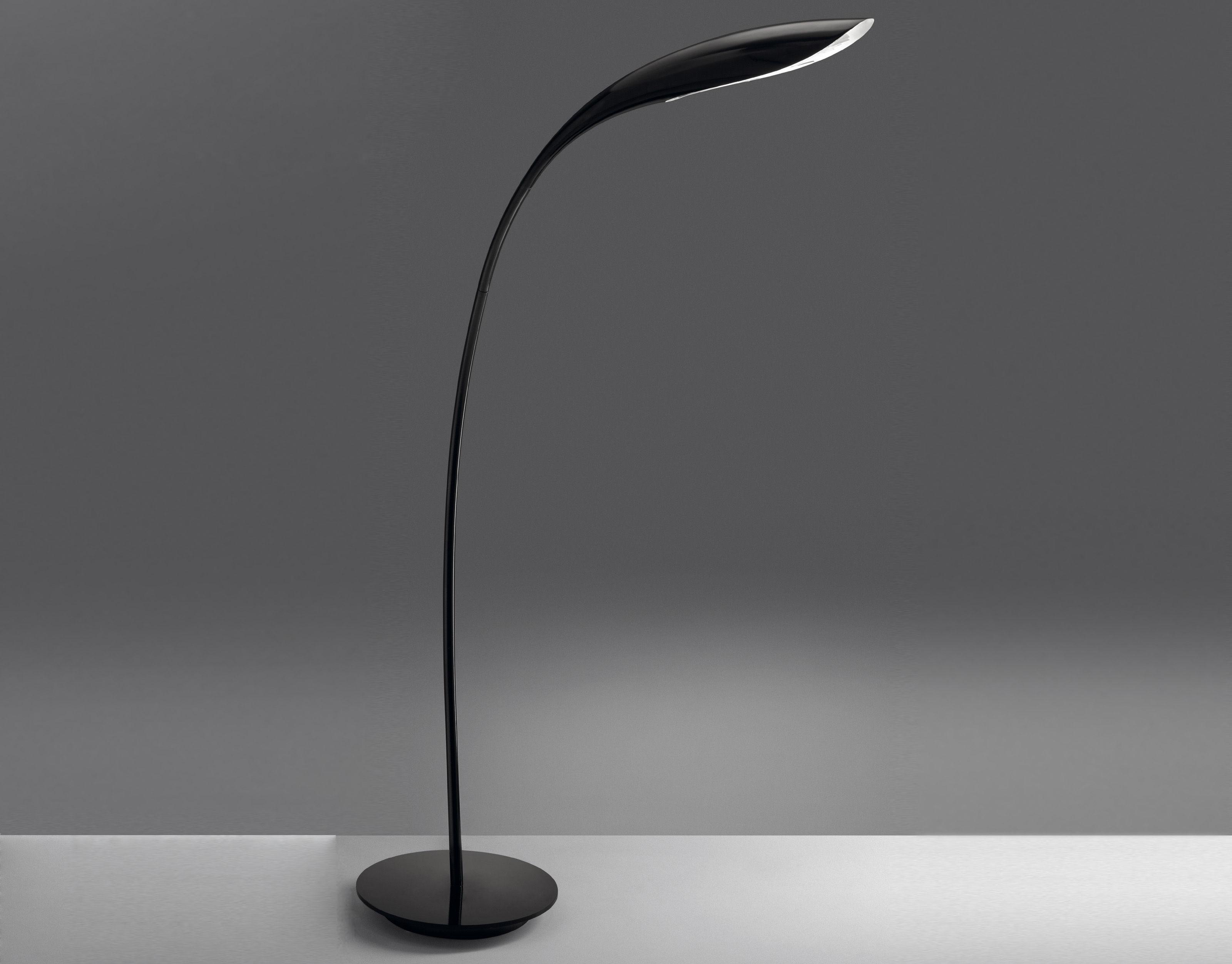 Lighting - Floor lamps - Doride Floor lamp by Artemide - Polished black - Metal