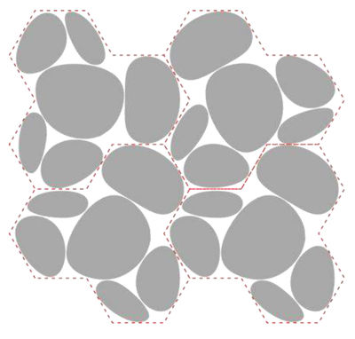 Kit d'assemblage Pour plafonnier Skydro - Artemide gris en matière plastique