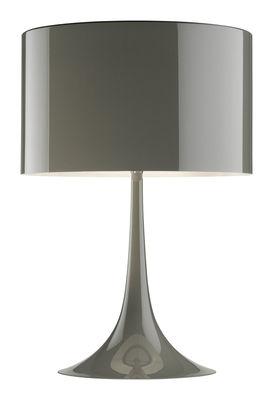 Lampe de table Spun light T1 H 57 cm - Flos taupe en métal