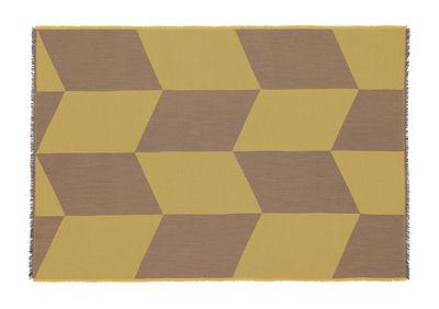 Plaid Sway / 130 x 180 cm - Muuto jaune en tissu