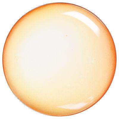 Plat de présentation Cosmic Diner Soleil / Ø 36 cm - Diesel living with Seletti jaune en céramique