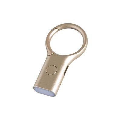 Accessoires - Objets connectés, accessoires high tech - Porte-clés Nomaday Light / Mini torche LED - Recharge USB - Lexon - Or mat - Acier inoxydable, Alliage de zinc