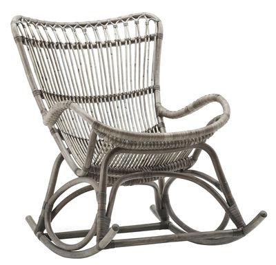 Arredamento - Poltrone design  - Rocking chair Monet di Sika Design - Talpa - Midollino