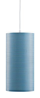 Illuminazione - Lampadari - Sospensione Pedrera H2O - Ø 13 x H 26 cm di Gubi - Blu - Metallo, Polietilene