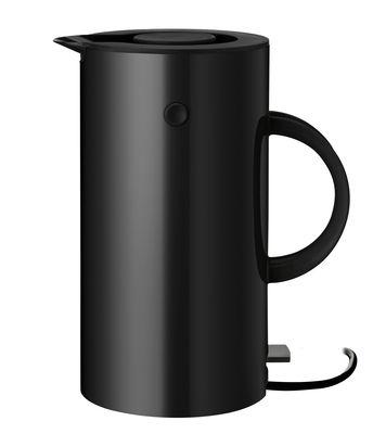 Küche - Teekannen und Wasserkessel - EM77 Wasserkocher / 1,5 l - Stelton - Schwarz - Plastique ABS