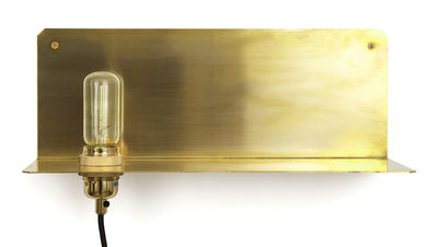 Applique avec prise 90° / Etagère - Frama laiton en métal