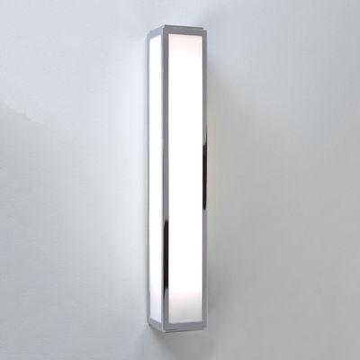 Applique Mashiko LED / L 60 cm - Polycarbonate - Astro Lighting blanc,chromé en métal