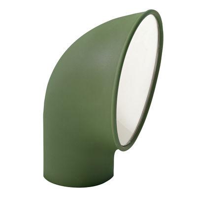 Borne d'éclairage Piroscafo / LED - H 37 cm - Artemide vert en métal