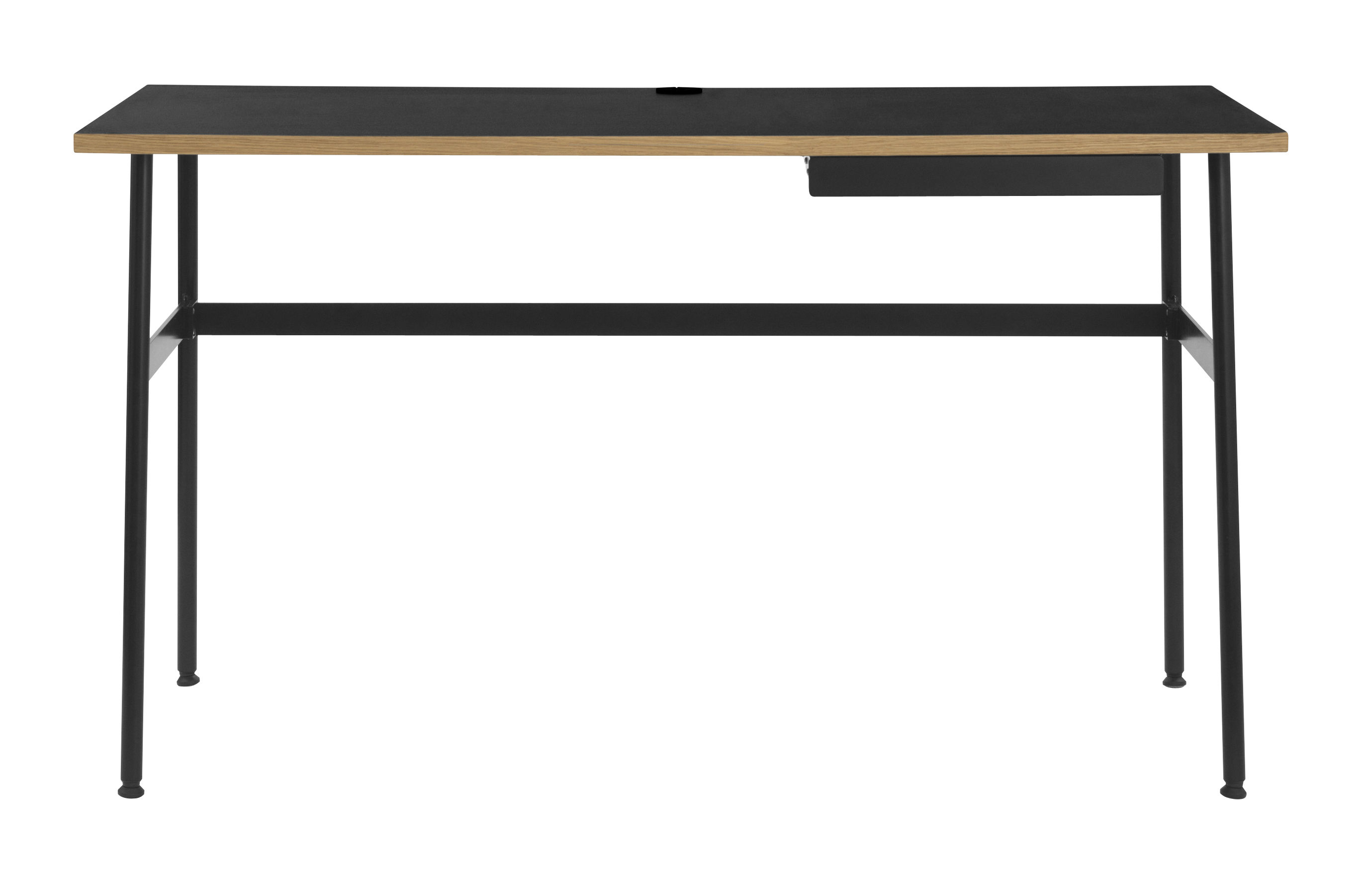 Bureau journal 1 tiroir noir normann copenhagen made in design
