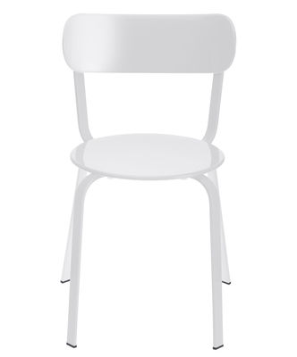 Chaise empilable Stil / Métal - Lapalma blanc en métal