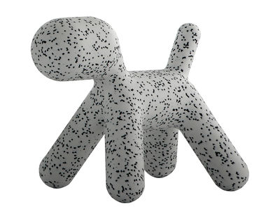 Furniture - Kids Furniture - Puppy Dalmatien Children's chair - / Small - L 42 cm by Magis Collection Me Too - White / Black mottled - Polythene