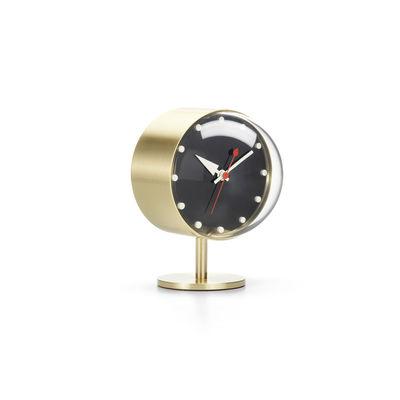 Decoration - Wall Clocks - Desk Clocks - Night Clock Desk clock - / By George Nelson, 1947-1953 by Vitra - Brass - Acrylic glass, Brass