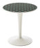 Tip Top La Double J End table - / PMMA top by Kartell