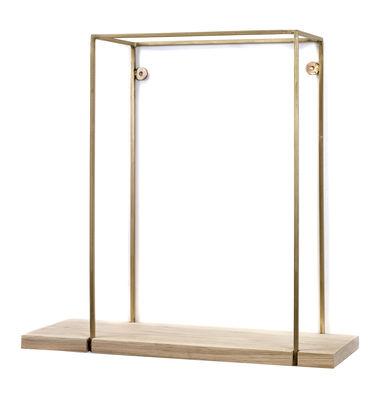 Mobilier - Etagères & bibliothèques - Etagère Hang Rack Large / L 45 x H 45 cm - Serax - H 45 cm / Bois & cuivre - Bois, Cuivre