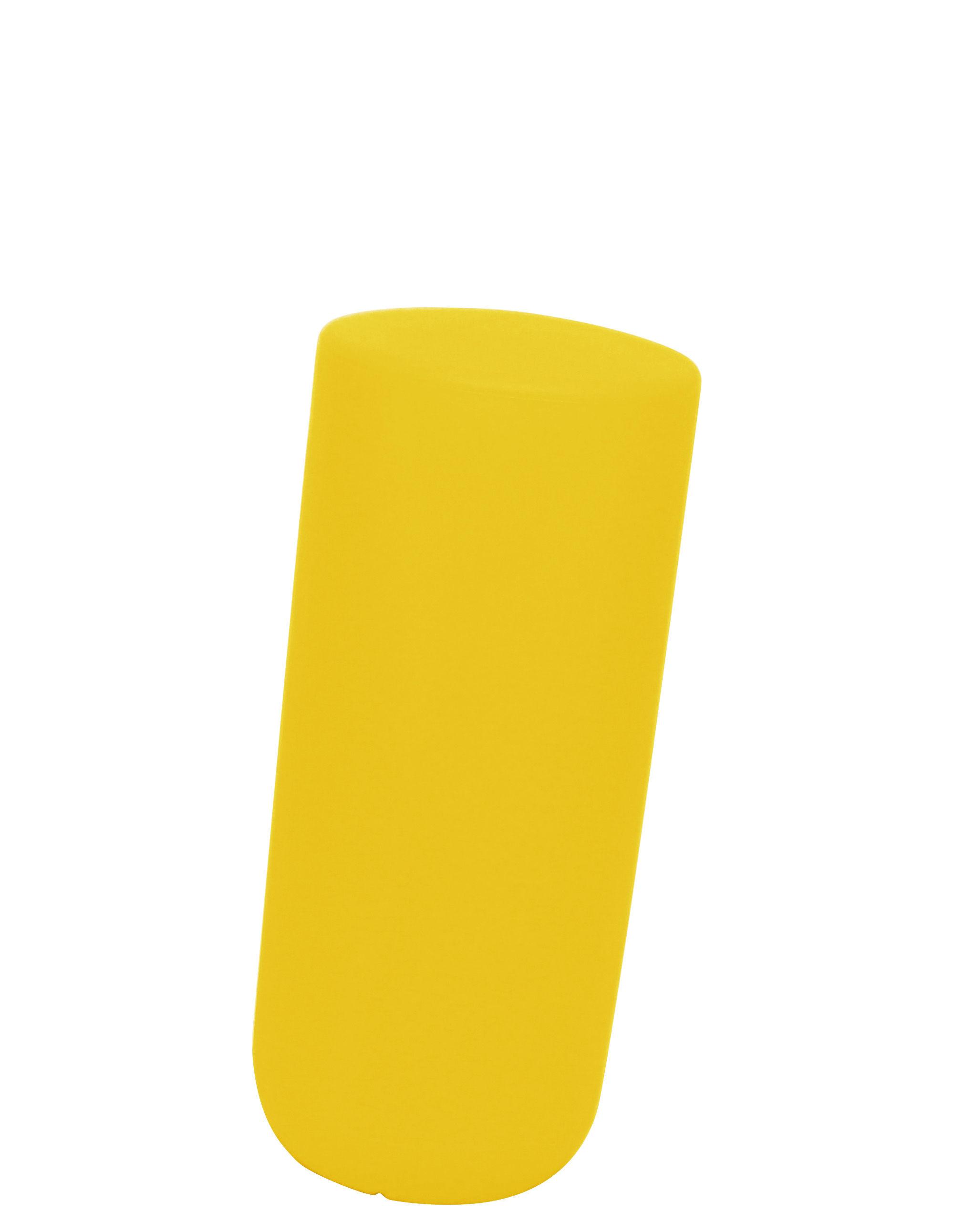 Möbel - Möbel für Teens - Sway Hocker H 50 cm - Thelermont Hupton - Gelb - Polyäthylen