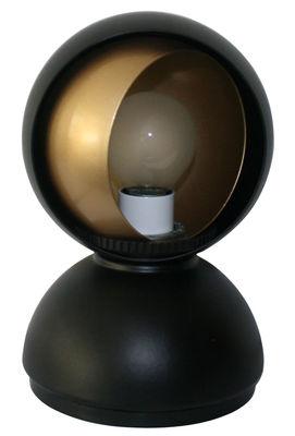 Illuminazione - Lampade da tavolo - Lampada da tavolo Eclisse - / Modello esclusivo in serie limitata di Artemide - Nero opaco / Interno oro - metallo verniciato
