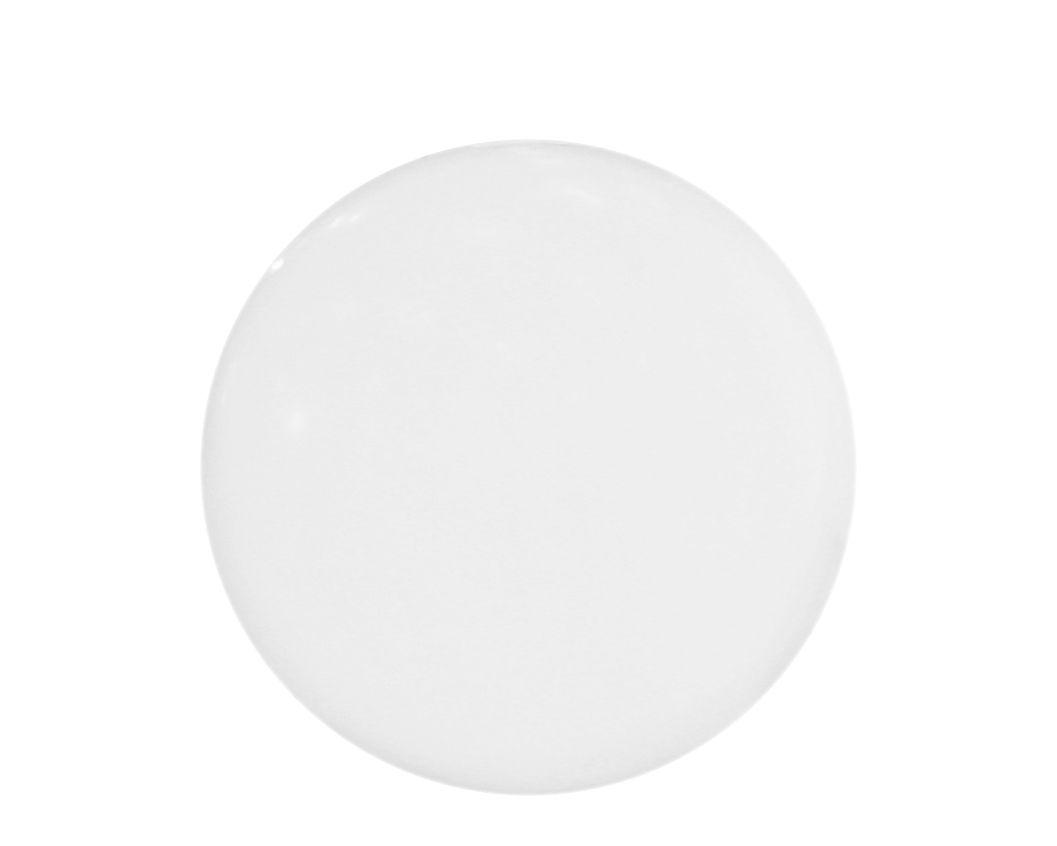 Leuchten - Tischleuchten - Globo Outdoor LED Lampe ohne Kabel kabellos - Ø 25 cm - für den Außeneinsatz - Slide - Weiß / für den Außeneinsatz - Ø 25 cm - recycelbares Polyethen