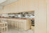 Sgabello alto Adam Cuir - / H 65 cm di Frama