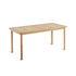 Table rectangulaire Pevero / 80 x 160 cm - 8 personnes - Teck - Unopiu