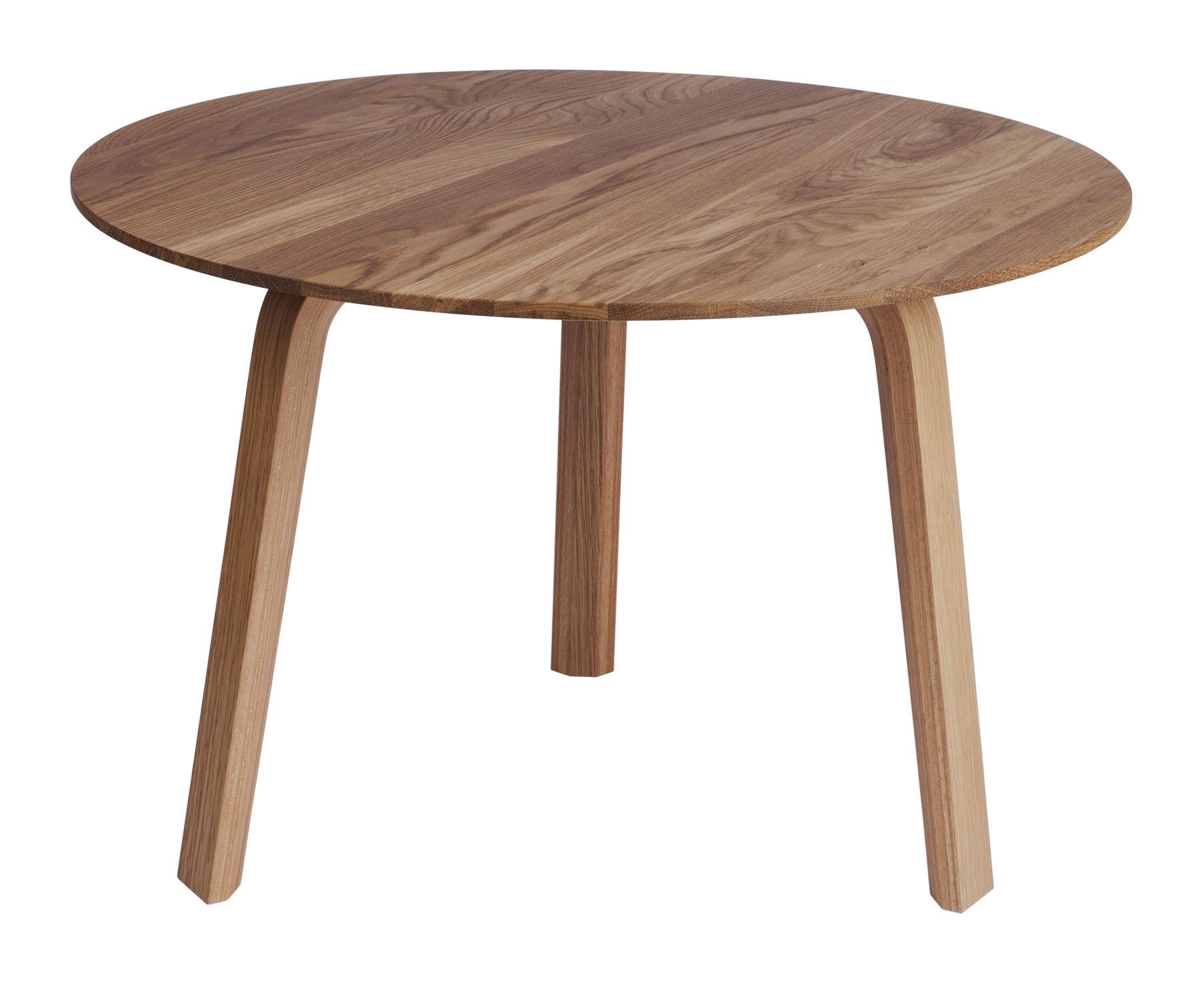 Arredamento - Tavolini  - Tavolino Bella - Ø 60 / A 39 cm di Hay - Rovere naturale - Massello di quercia oliato