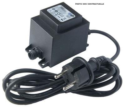 Transformateur / Pour composition de 10 à 14 appliques Neon Art - Seletti noir en matière plastique