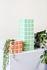 Tile Large Vase - / 10.5 x 10.5 x 28 cm by & klevering