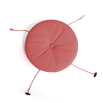 Déco - Coussins - Coussin d'assise / Pour chaise & fauteuil Toní - Fatboy - Rouge Industriel - Mousse polyester, Tissu acrylique