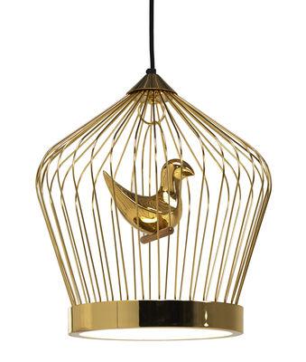 Image of Figurina oiseau supplémentaire - / Per sospensione Twee T. Grande di Casamania - Oro - Ceramica