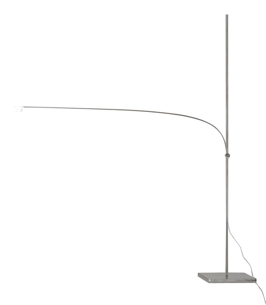 Luminaire - Lampes de table - Lampe de table UAU / LED - H 65 cm - Catellani & Smith - Argent - Métal